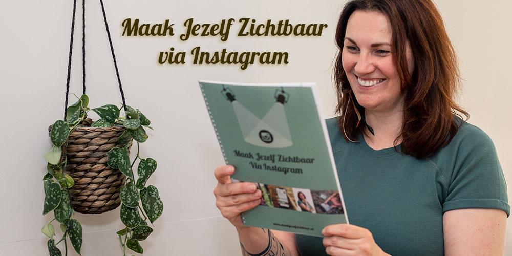 Online training 'Maak Jezelf Zichtbaar via Instagram'